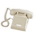 Cortelco ITT-2500NDL-AS 250044-VBA-NDL Ash desk no dial