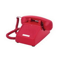 Cortelco ITT-2500NDL-RD 250047-VBA-NDL Red desk no dial