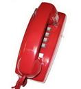 Cortelco ITT-2554-VOE-RD 255447-VOE-20MD Wall Value Line VOE Red