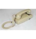 Cortelco ITT-2554NDL-AS 255444-VBA-NDL Wall No Dial - Ash