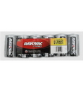 Rayovac RAY-AL-D Alkaline Shrink Wrapped D 6 Pack