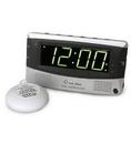 Sonic Bomb SA-SBD375SS Dual Alarm Clock w/ Bed Shaker