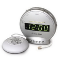 Sonic Bomb SA-SBT425SS Alarm clock with phone Sig and Vib