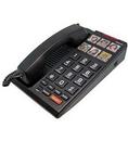 Cetis SCI-H3000-BK Big Button 6-Photo Analog Speakerphone