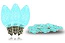 Winterland C7-DIM-RETRO-TL C7 Dimmable Teal Retrofit Bulb