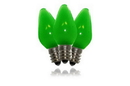 LEDgen C7-SMD-RETRO-GR-F C7 Green Frosted Dimmable SMD LED Retrofit Bulb