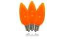 Winterland C9-DIM-RETRO-OR-F C9  Orange Frosted Dimmable LED Retrofit Bulb
