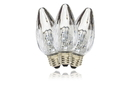 Winterland F50-RETRO-PW F50 Non-Dimmable Pure White Commercial Retrofit Bulb With An E26 Base And 10 Internal LED Chips
