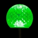 Winterland G40-RETRO-GR-E12 G40 Non-Dimmable Green Commercial Retrofit Bulb With An E12 Base And 10 Internal LED Chips