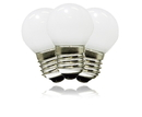 Winterland G40-RETRO-PW-F G40 Non-Dimmable Pure White Commercial Frosted Retrofit Bulb With An E26 Base And 10 Internal LED Chips