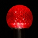 Winterland G40-RETRO-RE-E12 G40 Non-Dimmable Red Commercial Retrofit Bulb With An E12 Base And 10 Internal LED Chips