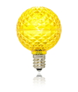 LEDgen G40-RETRO-YE-E12 G40 Non-dimmable Yellow Commercial Retrofit bulb with an E12 base and 10 Internal LED Chips