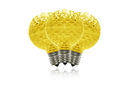 Winterland G50-DIM-RETRO-GO - G50 Dimmable Gold Commercial Retrofit Bulb With An E17 Base And 5 Internal Led Chips