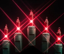 Winterland MINI-100-4-R - Red Incandescent Mini Lights