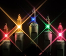 Winterland MINI-20-100-6-M - Multi Colored Incandescent Mini Lights