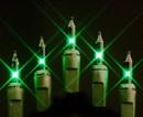 Winterland MINI-20-50-6-G - Green Incandescent Mini Lights