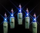 LEDgen MINI-50-4-B 50 Blue Incandescent Mini Lights