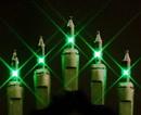 LEDgen MINI-50-4-G 50 Green Incandescent Mini Light