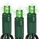 Winterland S-100MMGR-4GT4 Green LED 5MM Conical Twinkle Light Set