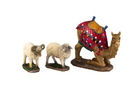 Winterland TK-NAT-07-ANM-2 3pc Set, Camel and Awassi Sheep for 7