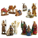 Winterland TK-NAT-10PC-ORN - Three Kings 10 Pc Nativity Ornament Set