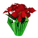 Winterland WL-5FL-POINSETTIA - Poinsettia Pot