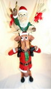 LEDgen WL-DEER-60-ELF Elf on Funny Reindeers Shoulders