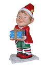 Winterland WL-ELF-GIFT-04 - 4' Tall Elf carrying wrapped gift