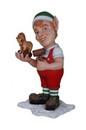 Winterland WL-ELF-TOY-04 - 4' Tall Elf Building toy