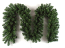 Winterland WL-GARPN-09 9' Green Pvc Pine Garland, 200 Tips