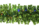 Winterland WL-GARSQ-09-L5M 9' Pre-Lit LED Multi Sequoia Garland
