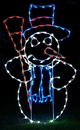 Winterland WL-GM103-LED LED Snowman Ground Mount