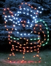 Winterland WL-GM112-LED LED Waving Santa Ground Mount