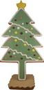 Winterland WL-GNBR-TREE-MINI Mini Gingerbread Tree