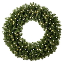 Winterland WL-GWSQ-02-LPW - 2' Pre-Lit Pure White LED Sequoia Wreath