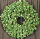 Winterland WL-GWSQ-03-LWW - 3' Pre-Lit Warm White LED Sequoia Wreath