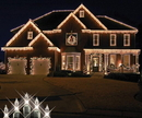 Winterland WL-IC100-CL - 8.5in long Clear 100 Icicle lights on white wire