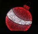 LEDgen WL-MTNF-3DORN-RE-06 6' RED 3D ORNAMENT NEON FLEX GROUND MOUNT