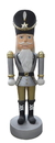 Winterland WL-NUT-06-GOSV 6' Nutcracker with Gold and Silver Coat