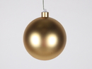 Winterland WL-ORN-BLKM-120-GO-UV 120MM Matte Gold Ball Ornament W/Wire And UV Coating