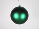 Winterland WL-ORN-BLKM-200-GR-UV 200MM Matte Green Ball Ornament W/Wire And UV Coating