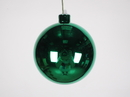 Winterland WL-ORN-BLKS-100-GR-UV 100MM Shiny Green Ball Ornament W/Wire And UV Coating