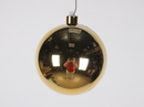 Winterland WL-ORN-BLKS-120-GO-UV 120MM Shiny Gold Ball Ornament W/Wire