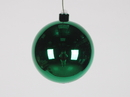 Winterland WL-ORN-BLKS-120-GR-UV 120MM Shiny Green Ball Ornament W/Wire