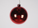 Winterland WL-ORN-BLKS-120-RE-UV 120MM Shiny Red Ball Ornament W/Wire