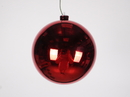Winterland WL-ORN-BLKS-140-RE-UV 140MM Shiny Red Ball Ornament W/Wire