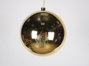 Winterland WL-ORN-BLKS-200-GO-UV 200MM Shiny Gold Ball Ornament W/Wire