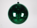 Winterland WL-ORN-BLKS-200-GR-UV 200MM Shiny Green Ball Ornament W/Wire