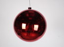Winterland WL-ORN-BLKS-200-RE-UV 200MM Shiny Red Ball Ornament W/Wire