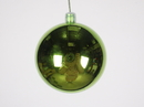 Winterland WL-ORN-BLKS-70-LG-UV 70MM Shiny Lime Green Ball Ornament W/Wire And UV Coating